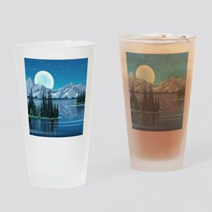 Mountain Sky Drinking Glass