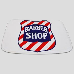 Barbershop Shield Bathmat
