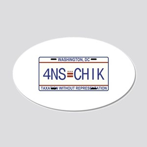 4NS=CHIK Wall Decal