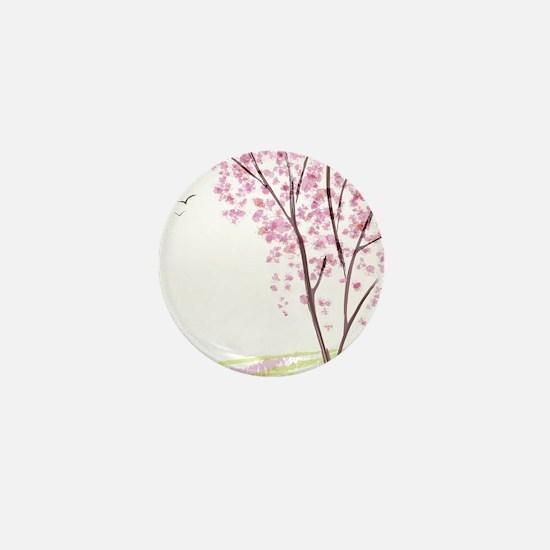 Tree in Spring Mini Button