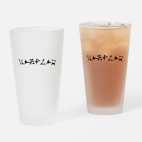 Zsadist OL Drinking Glass