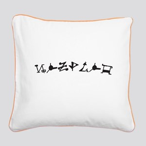 Zsadist OL Square Canvas Pillow