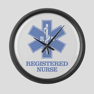 Registered Nurse Large Wall Clock