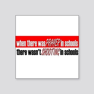 BUMPERschoolprayer Sticker