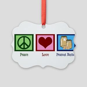 Peanut Butter Picture Ornament