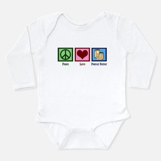 Peanut Butter Long Sleeve Infant Bodysuit
