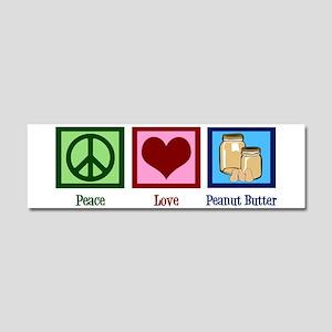 Peanut Butter Car Magnet 10 x 3