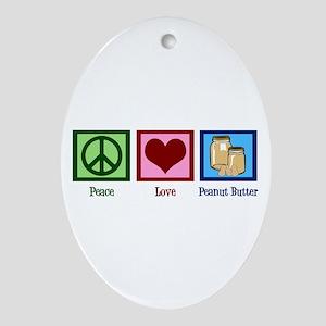 Peanut Butter Ornament (Oval)