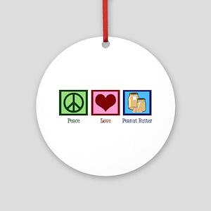 Peanut Butter Ornament (Round)