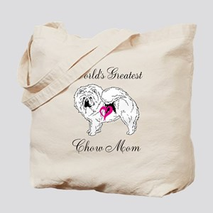 Worlds Greatest Chow Mom Tote Bag