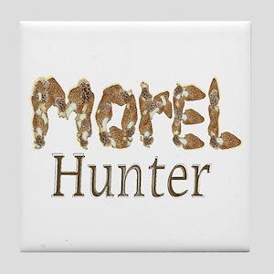 Morel hunter gifts and t-shir Tile Coaster
