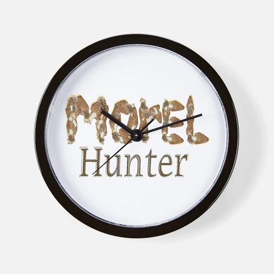 Morel hunter gifts and t-shir Wall Clock