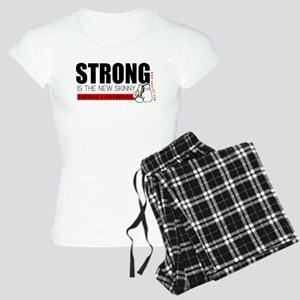 Strong Is The New Skinny Women's Light Pajamas