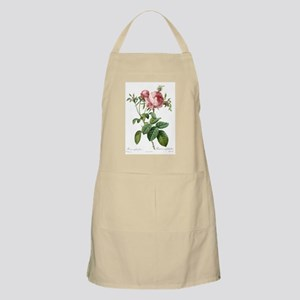 Lovely vintage pink rose  flowers and green  Apron