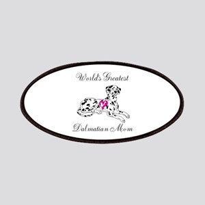 Worlds Greatest Dalmatian Mom Patches