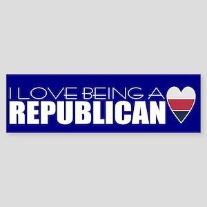 happy republican Bumper Sticker