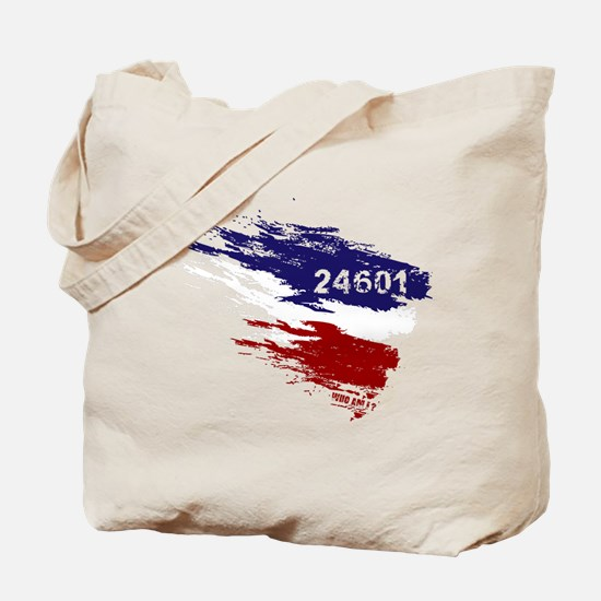 Who Am I? 24601 Tote Bag