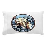 Native Bear Art Pillow Case