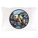 Native Bear Art Pillow Case