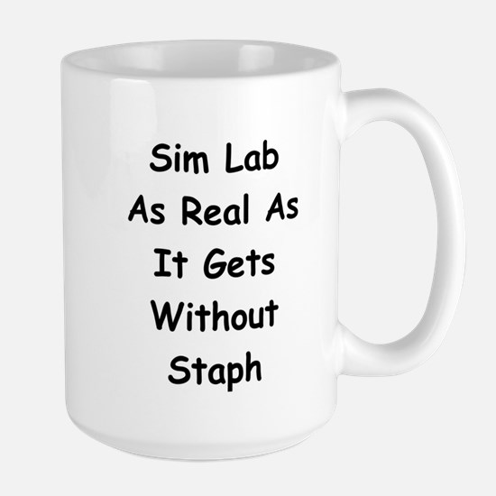 Sim Lab Staph Large Mug