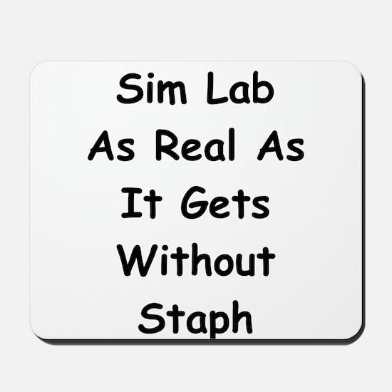 Sim Lab Staph Mousepad