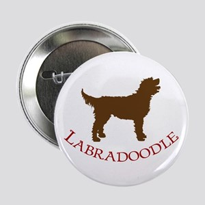 Labradoodle Dog Button