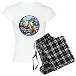 Native Bear Art Women's Light Pajamas