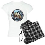 Native Bear Art Women's Light Pajamas