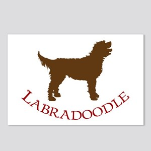 Labradoodle Dog Postcards (Package of 8)
