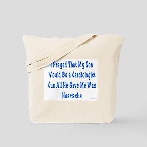 Cardiologist Heartache Tote Bag