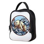 Native Bear Art Neoprene Lunch Bag