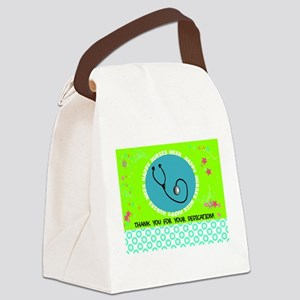 HAPPY NURSES WEEK 3 Canvas Lunch Bag