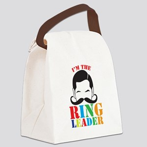 Im the RING LEADER with man curly mustache Canvas