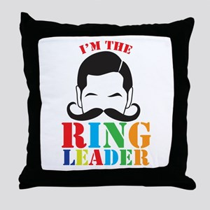 Im the RING LEADER with man curly mustache Throw P