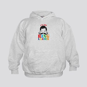 Im the RING LEADER with man curly mustache Hoodie