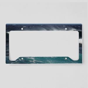North Shore Big Waves License Plate Holder