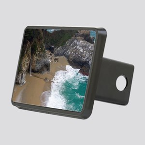 Beach Waterfall Big Sur Rectangular Hitch Cover