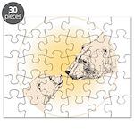 Polar Bear & Cub Puzzle