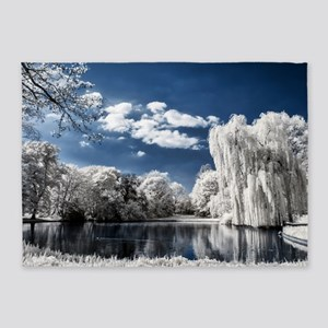 Weeping Willow Infrared 5'x7'Area Rug