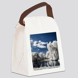 Weeping Willow Infrared Canvas Lunch Bag