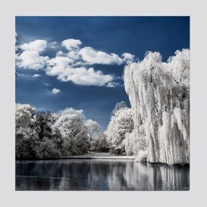 Weeping Willow Infrared Tile Coaster
