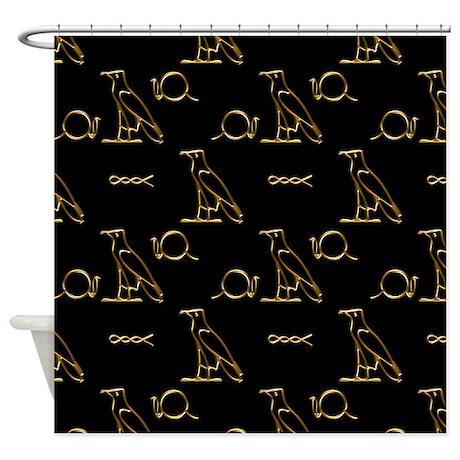 Egyptian Gold Shower Curtain