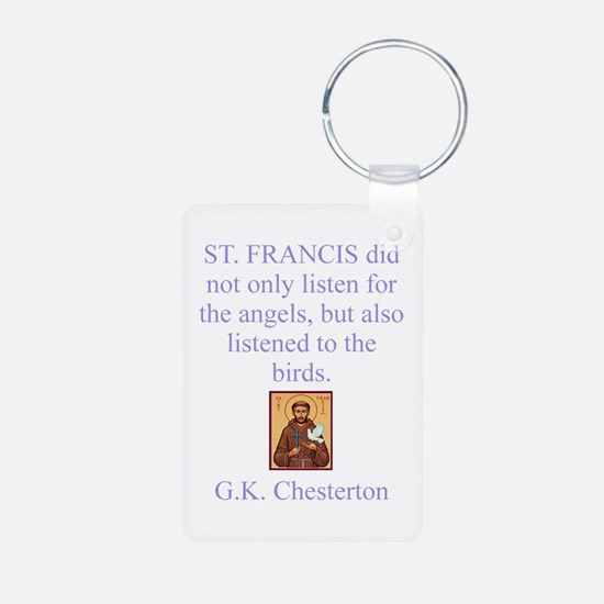 St.Francis Keychains