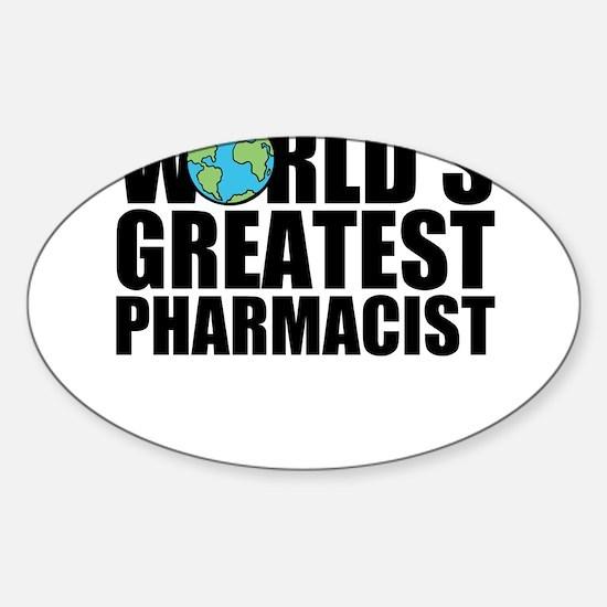 World's Greatest Pharmacist Decal