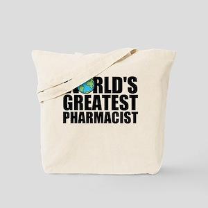World's Greatest Pharmacist Tote Bag