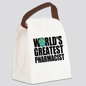 World's Greatest Pharmacist Canvas Lunch Bag