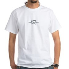 Master Gardener Logo Garden Black White T-Shirt