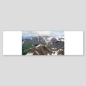 Kenai Mountains, Alaska Bumper Sticker