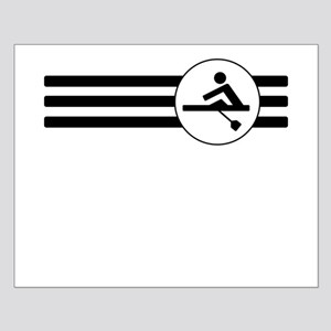 Rowing Stripes Poster Design