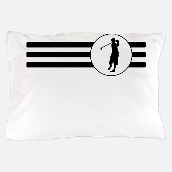 Golf Stripes Pillow Case